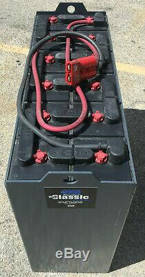 Batterie Pour Chariot Élévateur Usagé Et Reconditionné De 24 Volts 12-125-15 875 Amp Hour