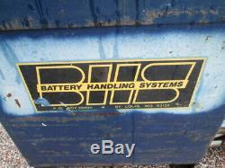 Bhs Chariot Électrique Batterie Transfert Manutention Système Extracteur Transport Lift