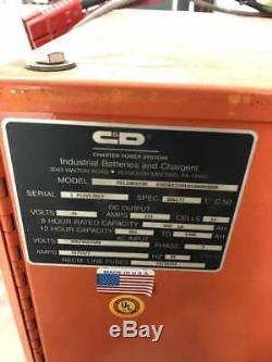 C & D Ferro Cinq Fr12hk850m 24v Chariot Élévateur Chargeur De Batterie 850/851 / 1200ah 3ph