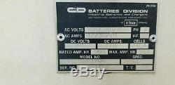 C & D Ferro Occasion Chargeur De Batterie 48 Volt 900ah