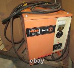 C & D Ferro V Fr6c / E155h Chariot Chargeur De Batterie De 12 Volts (208/240/480)