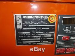 C & D Tech Ranger 11 Elite Chargeur De Batterie Pour Chariot Élévateur Industriel 24 Volt Re12hk155