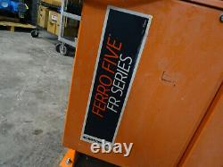 C&d Ferro Five Fr24hk1360 Chargeur De Chariots Élévateurs À Batterie Industrielle 48v 220a 3ph