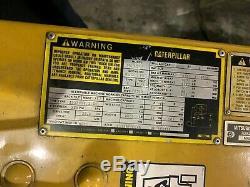 Cat Caterpillar M50dsa 5000 Lb Chariot Électrique Reconditionné Batterie Et Chargeur