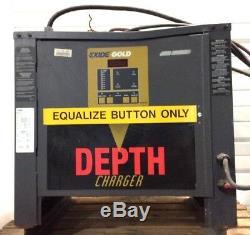 Chargeur De Batterie 208v 240v 480v 3phas Exide Gold 680ah D3g-12-680 24v CC