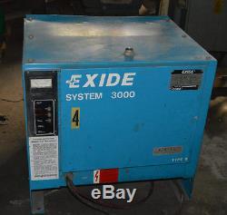 Chargeur De Batterie À Fourches 36 Volts Exide G3-18-630b # 27747