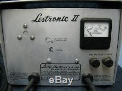 Chargeur De Batterie / Chariot De Golf 24v Lestronic Ii, 36 Volts, 25 A, Modèle 13115