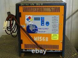 Chargeur De Batterie De Chariot Élévateur 24vdc Helmar Inc. 208/240/480, 100a