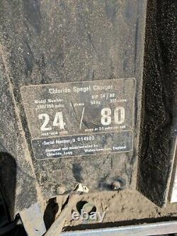 Chargeur De Batterie De Chariot Élévateur Chloride Spegel 24 / 80