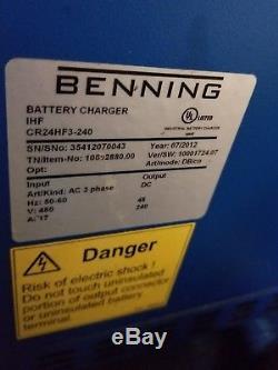 Chargeur De Batterie De Chariot Élévateur De 48 Volts