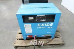 Chargeur De Batterie De Chariot Élévateur Exide G1-12-775b 775 Ah, 24 Volts, 1 Sortie Manquante