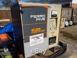 Chargeur De Batterie De Chariot Élévateur Ferro Five, Chariot De Golf Hd, 12 Volts, Camion Fr6ce510a