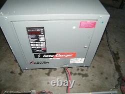 Chargeur De Batterie De Chariot Élévateur Hobart Accu-charge 510c3-12 510c3 24 Volts 12 Cellules