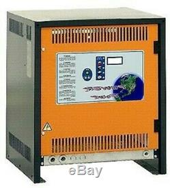 Chargeur De Batterie De Chariot Élévateur Monophasé 36 Volts 36v 140 Ampères 840 ÷ 910 Ampères