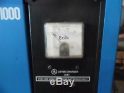 Chargeur De Batterie Es1-12-380 De Chariot Élévateur Industriel Exide System 1000