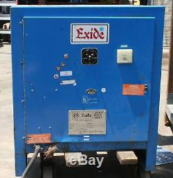 Chargeur De Batterie Exide Forklift Npc12-3-1050l 24v
