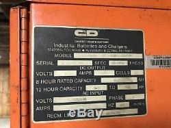 Chargeur De Batterie Hi Lo 1ph Pour Chariot Élévateur 24 Volts 960 Ah Ferro Five
