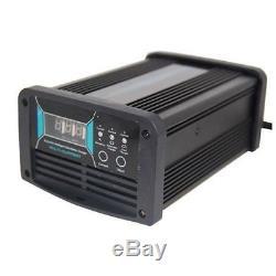 Chargeur De Batterie Intelligent 24v 25a Désulfation D'impulsion Automatique Pour Chariot De Golf Chariot Élévateur