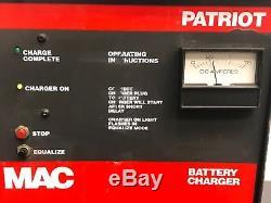 Chargeur De Batterie Mac Patriot Pac1840 36volt Forklift