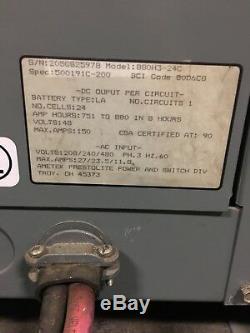 Chargeur De Batterie Mate 48v Hobart Ametek 751-880ah 3ph 208/240/480 Nj