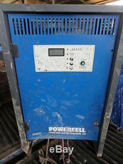 Chargeur De Batterie Monophasé Curtis 48 Volts De 60 Ampères