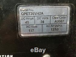 Chargeur De Batterie Pour Chargeur De Batterie 36 Volts Et 40 Ampères