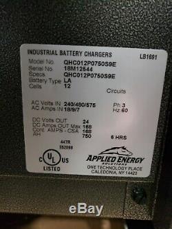 Chargeur De Batterie Pour Chargeur De Batterie Industriel Appliqué Neuf