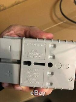 Chargeur De Batterie Pour Chargeur De Batterie Quick Charge Corp, 36 Volts, 40 Ampères, Gris
