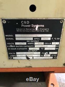 Chargeur De Batterie Pour Chariot Élévateur 1200-1800ah 3ph De C & D Ferro Five Fr18hk1200a 36v