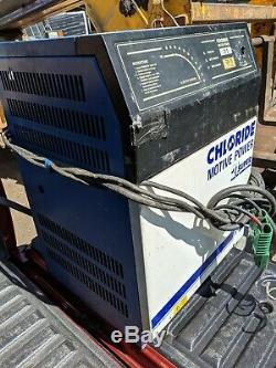 Chargeur De Batterie Pour Chariot Élévateur Chloride Spegel 21s 72v 70 Amps