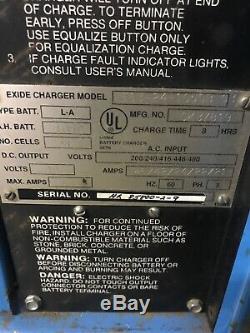 Chargeur De Batterie Pour Chariot Élévateur Exide Seystem 3000