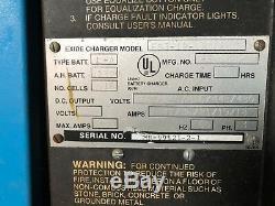 Chargeur De Batterie Pour Chariot Élévateur Exide System 3000, Sortie 36 Volts CC