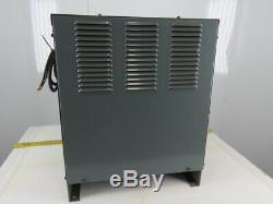 Chargeur De Batterie Pour Chariot Élévateur Hobart 540b1-12r 208-230 / 460v Input 12 Cells 24vdc
