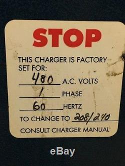 Chargeur De Batterie Pour Chariot Élévateur Industriel Nord Est Modèle 1ne6-750 12v