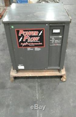 Chargeur De Batterie Pour Chariot Élévateur Powerflow 2200 12mq725c 24 Volts 120 Ampères # 1203kw