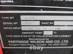 Chargeur De Batterie Pour Chariot Élévateur Wilson 27112075 220/240v