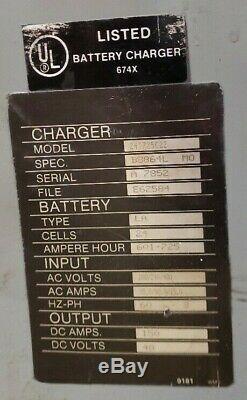 Chargeur De Batterie Trojan 2 48 Volt Chargeur De Chariot Élévateur Modèle 24t725c22