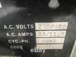 Chargeur Industriel 620 / 730ah 240v / 480v 3ph De Batterie De Chariot Élévateur De Hester 36v