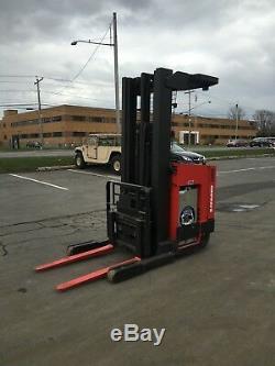 Chariot Élévateur Raymond Read Truck 4000lb 211 Ascenseur Avec Batterie Et chargeur, Hd 95tall