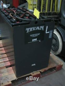 Chariot Élévateur Usagé 36 Volts Batterie 18-125-17 1000 Amp Hour
