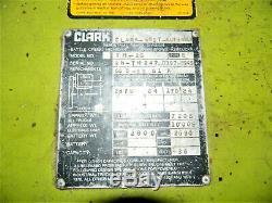Clark Tm-15 Chariot Lift Avec Yausa 2000 Plus De Batterie Non Batteries