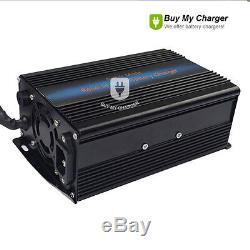 Désulfatation De Chargeur De Batterie Au Plomb 12v 20a Pour La Balayeuse De Décapant De Chariot Élévateur