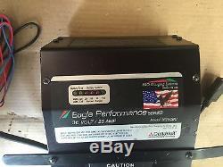 Eagle 36volt 25amp Batterycharger, Élévateur À Fourche, Laveur De Sol, Ciseaux, Chariot De Golf
