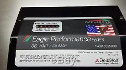 Eagle Performance 36 Volts Chargeur De Batterie 25 Ampères, Chariot De Golf, Chariot Élévateur