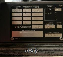 Empileur 24v De Préparateur De Commandes De Chariot Élévateur De Magasin Électrique De Couronne Avec Le Chargeur De Batterie