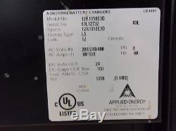 Énergie Appliquée Workhorse 12r1050e3d 24v Chargeur De Batterie Chariot Élévateur (for2082)