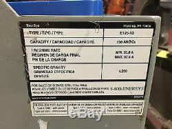 Enersys 18-125-13 Batterie Fourchette Neuf En Sept. 2015, Excellent État