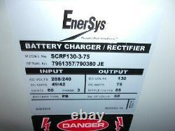 Enersys 3ph Chariot Élévateur À Fourche Chargeur De Batterie Rectifier Scrf130-3-75