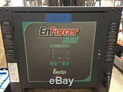 Enersys Enforcer Scr Chargeur De Batterie Testée 24 Volt / 750ahr / 3 Phase