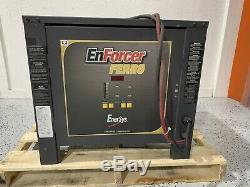 Enersys Ferro Enforcer 36v 208v 3ph Numérique Chariot Élévateur Chargeur Condition Grande